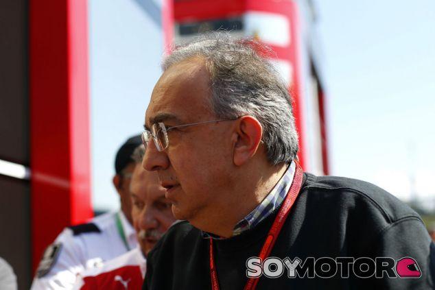Marchionne, durante el GP de España 2016 - SoyMotor