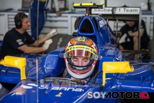 Raffaele Marciello ya se subió al Sauber C34 en los FP1 del GP de Malasia - LaF1