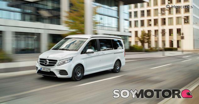 Mercedes Marco Polo Horizon: cómoda y polivalente para aventureros - SoyMotor.com