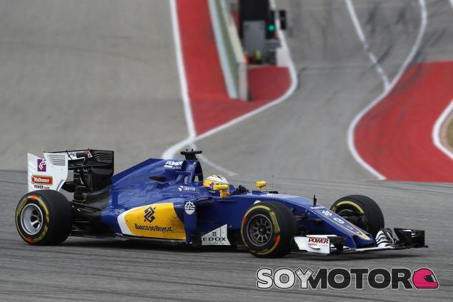 Marcus Ericsson durante la carrera en Austin - LaF1