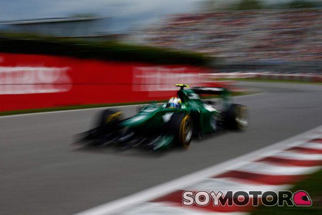 Marcus Ericsson en el Gilles Villeneuve - Laf1