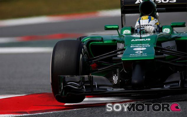 Marcus Ericsson durante la clasificación del Gran Premio de España - LaF1