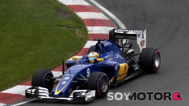 Ericsson volvió a superar a Nasr - LaF1