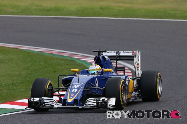 Marcus Ericsson en Suzuka - LaF1