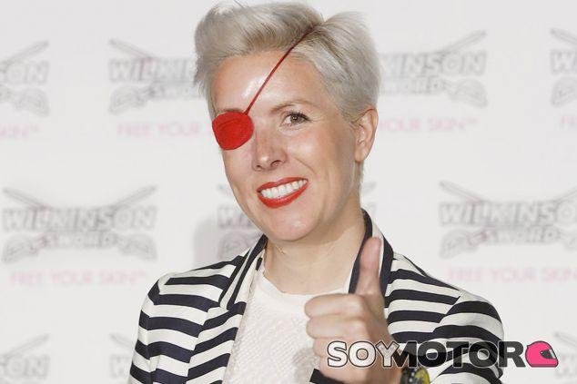 María de Villota en una fotografía tras su accidente con Marussia - LaF1