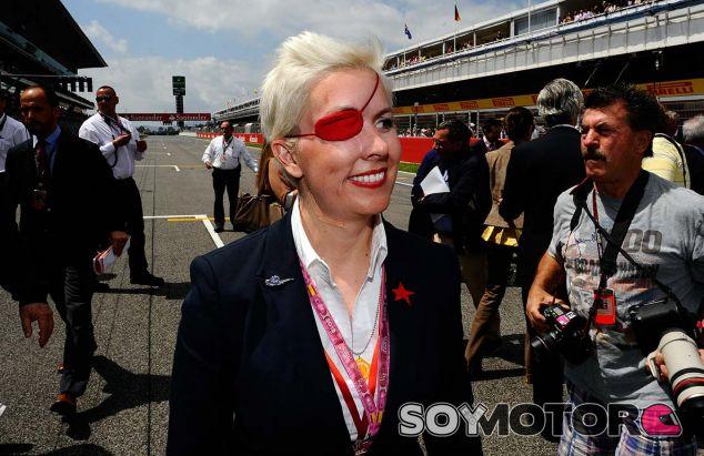 María de Villota en Barcelona - SoyMotor.com