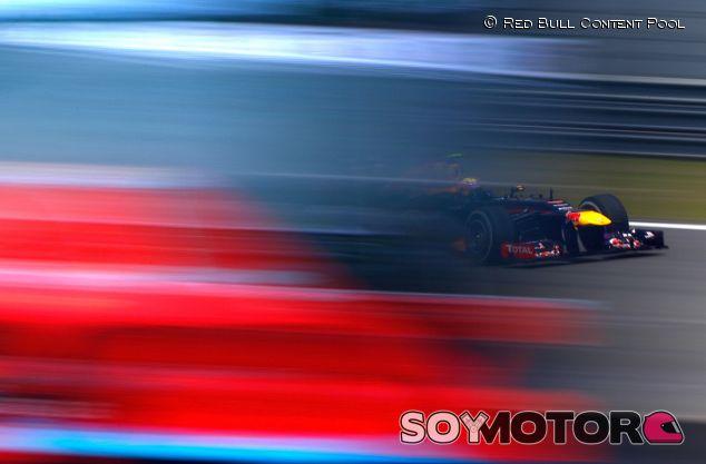 Mark Webber en el pasado Gran Premio de China - LaF1