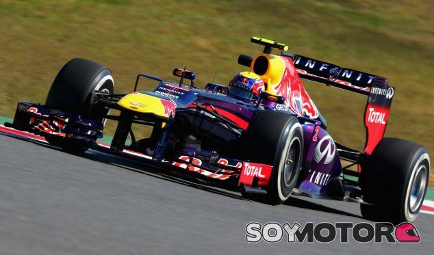 Mark Webber durante los entrenamientos libres del GP de Corea - LaF1