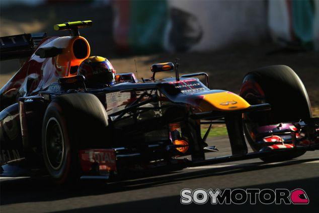 Mark Webber durante el Gran Premio de Japón - LaF1