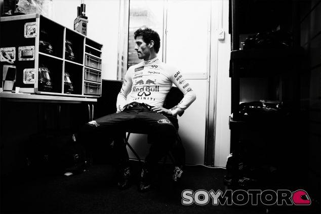 Mark Webber se prepara para su última carrera en la Fórmula 1 - LaF1