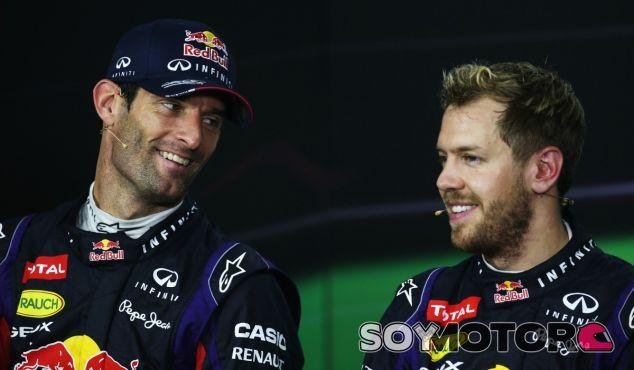 Webber considera a Vettel el mejor piloto de la parrilla - LaF1