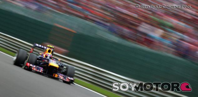 Mark Webber, tercero en Spa-Francorchamps - LaF1