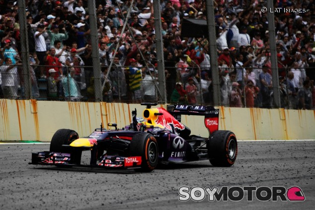 Sebastian Vettel en 2013 - SoyMotor.com