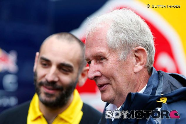 Cyril Abiteboul y Helmut Marko - SoyMotor