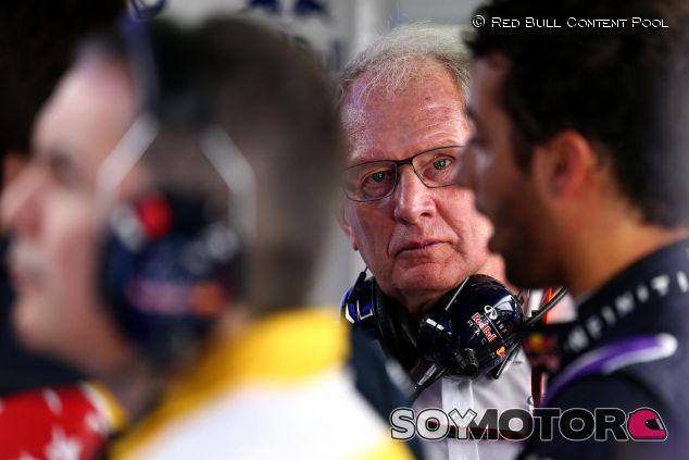 Helmut Marko y Daniel Ricciardo - LaF1