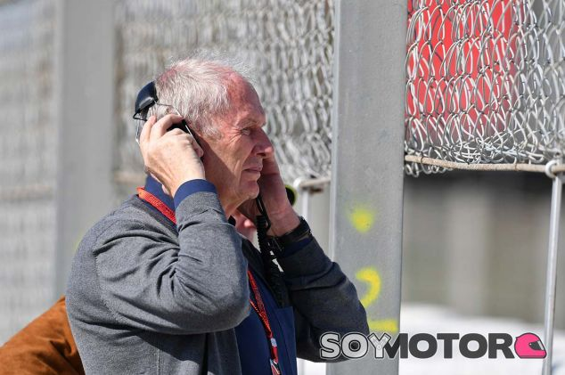 Helmut Marko en Barcelona - SoyMotor.com