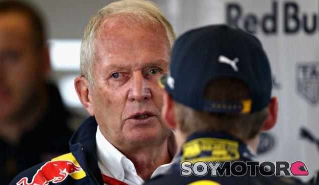 Marko, durante el GP de Estados Unidos