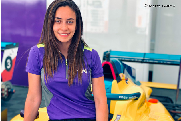 Marta García asume el reto de ser protagonista de las W Series - SoyMotor.com