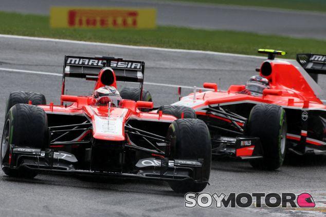 Marussia en el Gran Premio de Gran Bretaña