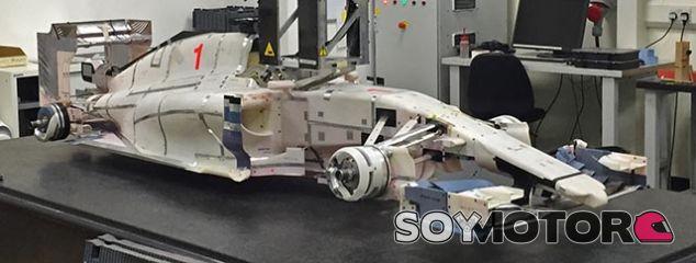 Se filtran fotografías del diseño que Marussia preparaba para 2015 - LaF1