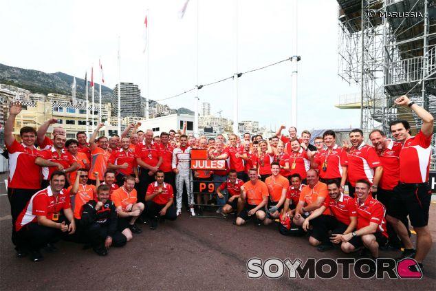 Jules Bianchi en Mónaco, donde terminó noveno - LaF1