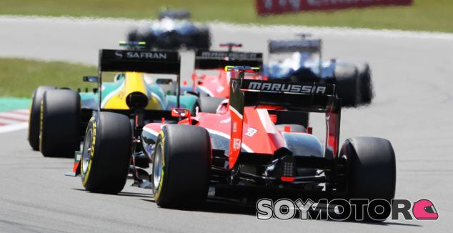 Marussia y Caterham, en la cola del GP de Alemania - LaF1