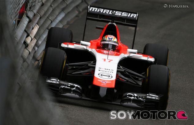 Jules Bianchi en el pasado Gran Premio de Mónaco, la mejor carrera de la historia de Marussia - LaF1