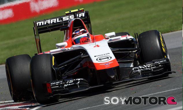 Max Chilton en el pasado Gran Premio de Canadá - LaF1