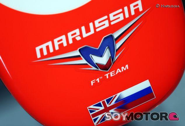 Detalle del morro del Marussia MR02