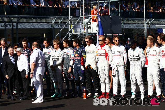 La F1 homenajeó a Jules antes del GP de Rusia - LaF1