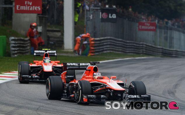 Jules Bianchi y Max Chilton en Monza - LaF1