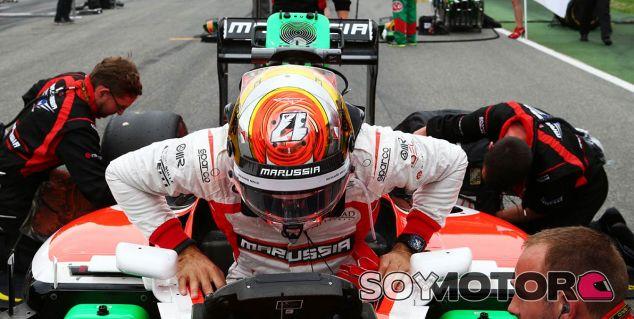 Marussia en el GP de Hungría F1 2014: Previo