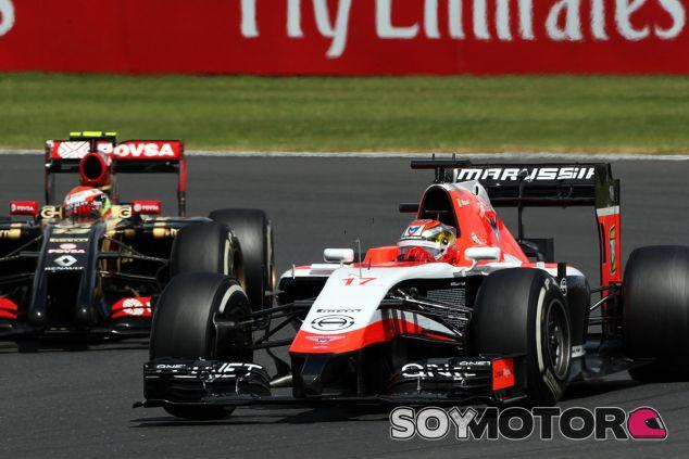 Jules Bianchi en Silverstone - LaF1