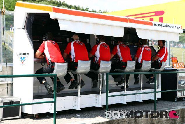 Pit-Wall de Marussia en Hungría - LaF1