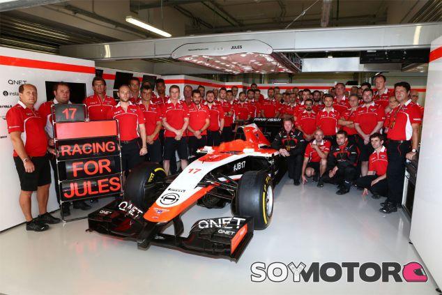 Marussia en el GP de Rusia F1 2014: Domingo - LaF1