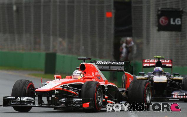 Marussia confirma su asistencia a los entrenamientos de Jerez
