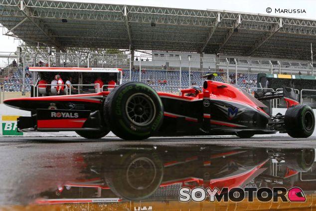 Marussia en el Gran Premio de Brasil - LaF1