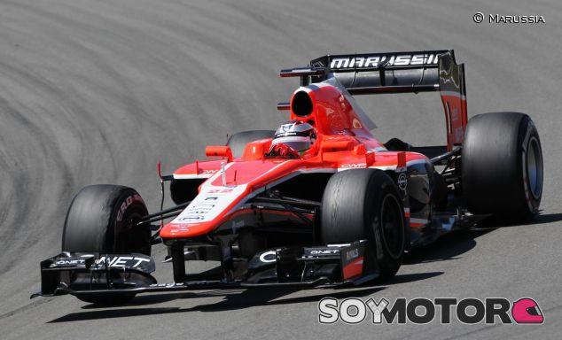 Marussia en el GP de Alemania F1 2013: Domingo