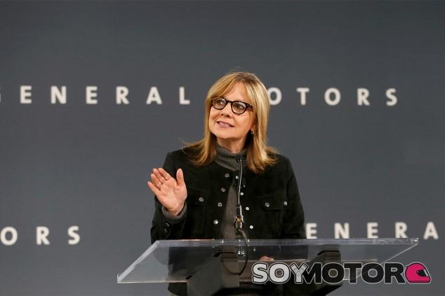 Mary Barra, directora ejecutiva de General Motors - SoyMotor.com