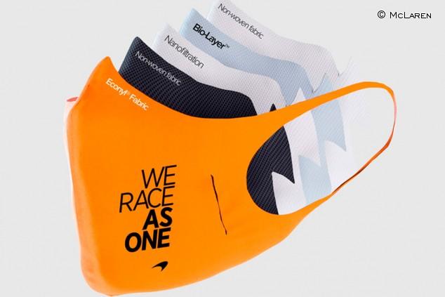 La mascarilla McLaren: benéfica y con un uso de hasta 200 horas - SoyMotor.com