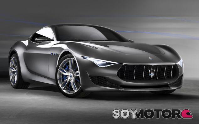 Foto del Maserati Alferi Concept, presentado en el Salón de Ginebra de 2014 - SoyMotor
