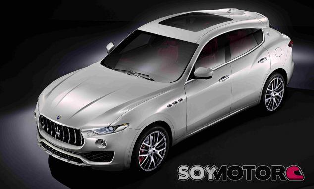 El Maserati Levante muestra su imagen antes de su debut internacional - SoyMotor
