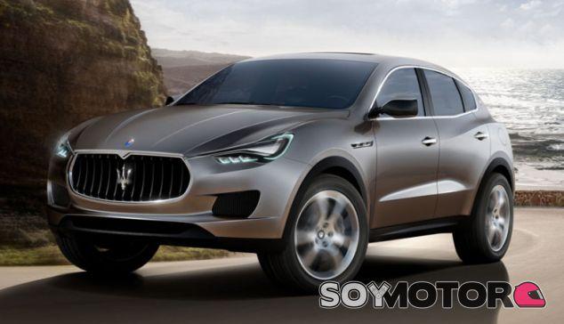 Maserati Segundo SUV 2019 - SoyMotor.com