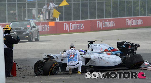Massa sigue molesto por el incidente con Pérez en Canadá - LaF1.es