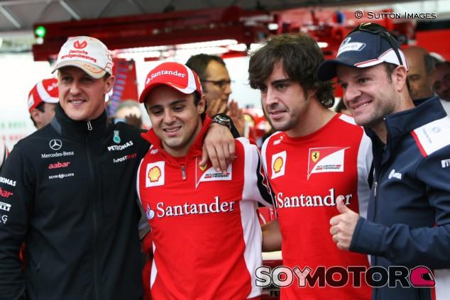 """Massa: """"Mi compañero de equipo más duro fue Alonso"""" - SoyMotor.com"""