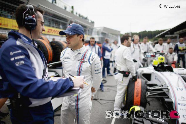 Felipe Massa en la parrilla del GP de Austria - LaF1