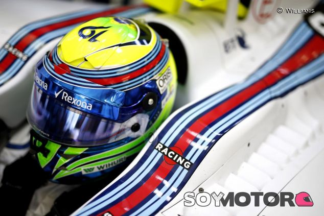 Felipe Massa subido en el Williams FW37 - LaF1