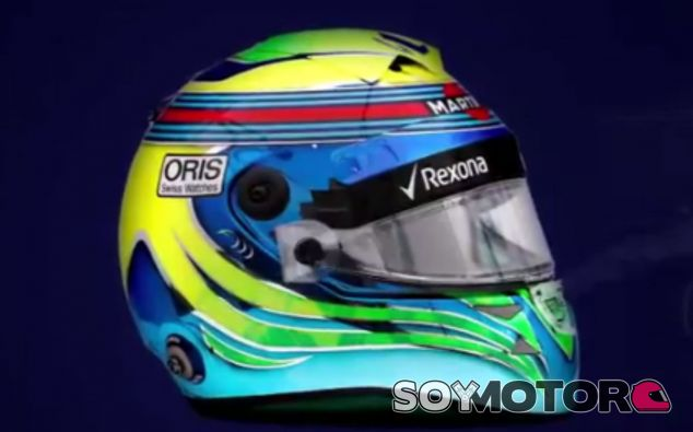 Massa presenta su nuevo casco para 2017 - SoyMotor