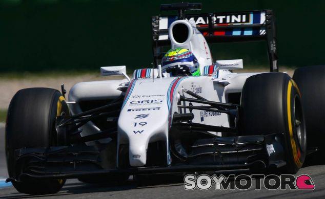 Felipe Massa en su Williams - LaF1
