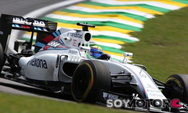 Felipe Massa durante el Gran Premio de Brasil - LaF1